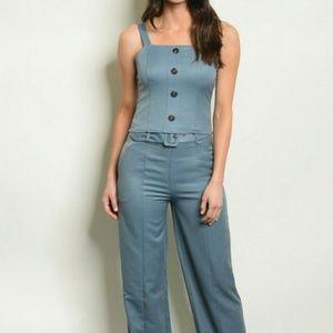 863132dec5d Pants - Denim Blue Top   Pants Set